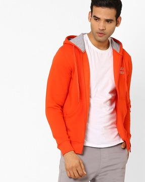 Regular Fit Hooded Sweatshirt