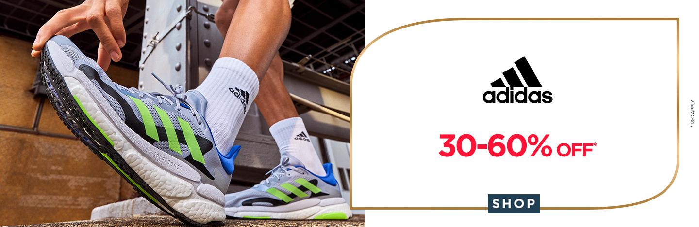 ajio.com - Up to 60% discount on Adidas Sportswear