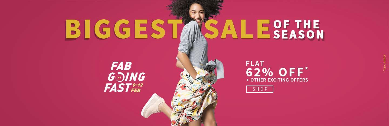 offers on Ajio Fashion