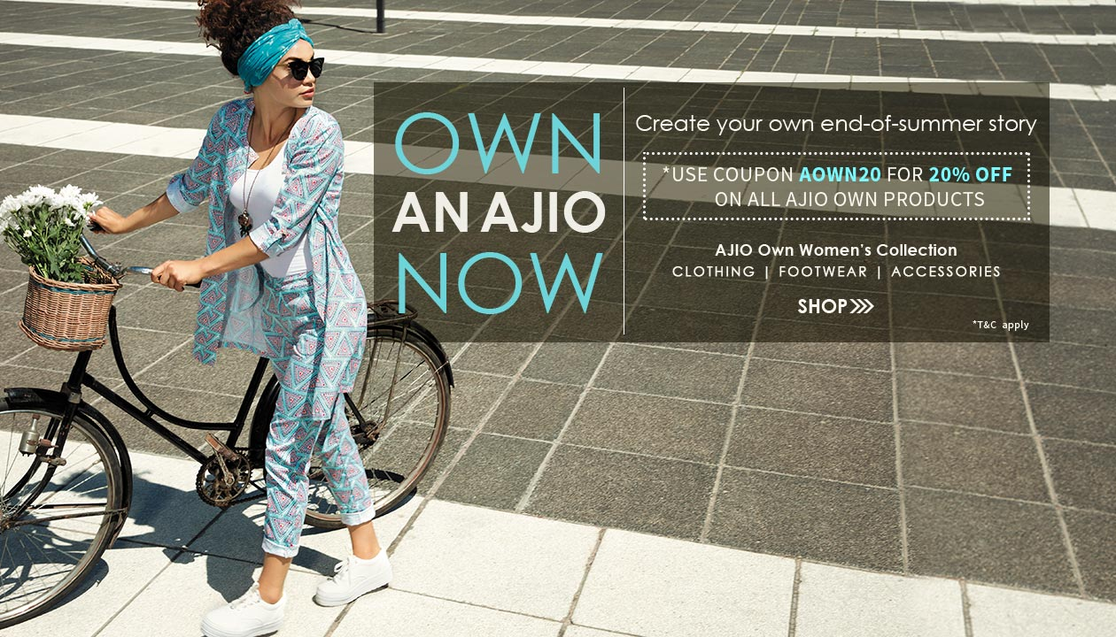 Ajio coupons how to use