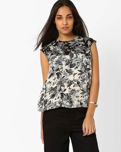 Floral Print Top By CHEMISTRY ( Multi )