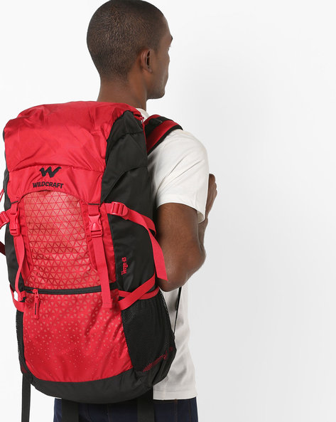Colourblock Travel Backpack By Wildcraft ( Red )