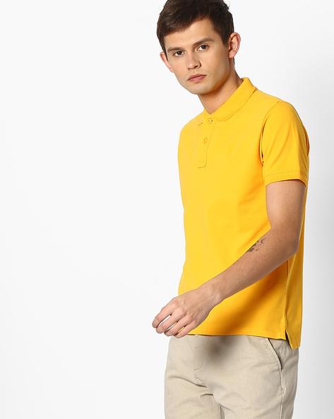 Cotton Polo T-shirt By Pepe Jeans ( Orange )