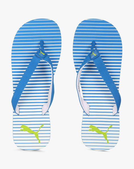 IDP Thong-Style Flip-Flop Sandals By Puma ( Blue )