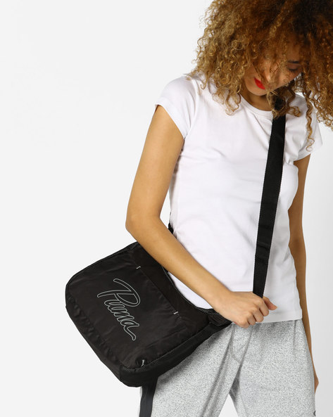 Core Shoulder Bag By Puma ( Black )