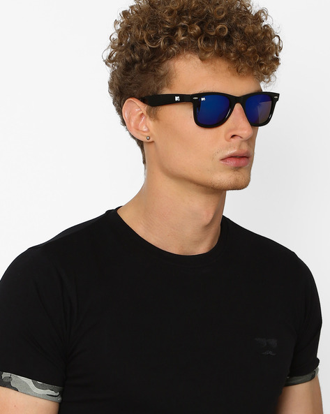 UV-Protected Mirrored Wayfarers By MTV ( Green )