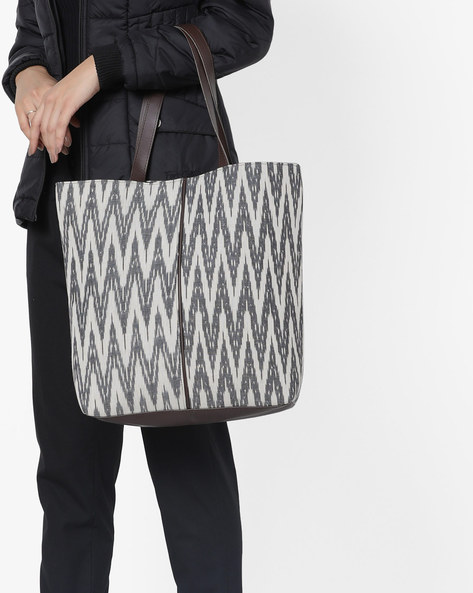 Ikat Print Tote Bag By Project Eve ( Multi )