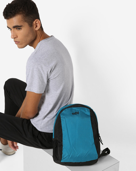 Wiki Colourblocked Backpack By Wildcraft ( Blue )