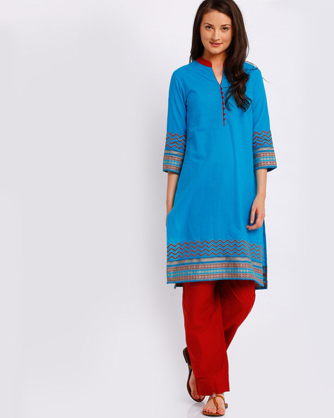 Kurta Suit Set With Embroidery By AVAASA SET ( Assorted )