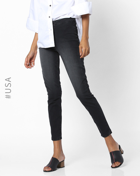 Ankle-Length Jeggings By Aeropostale ( Black )