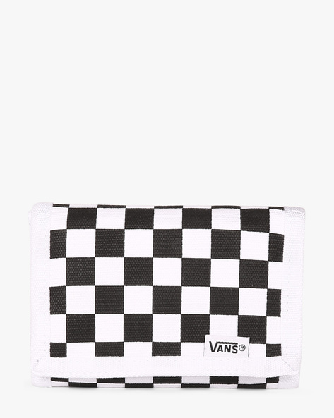 Checked Bi-Fold Wallet By Vans ( Black )
