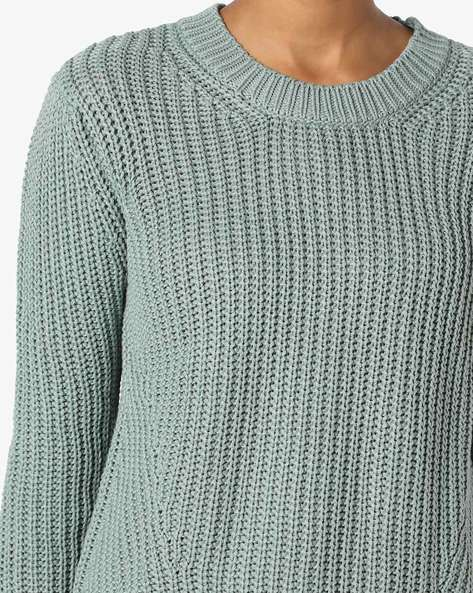 Crew-Neck Pullover With Vented Hem By Lee ( Green )