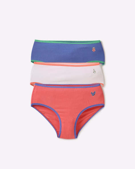 Pack Of 3 Panties By Under Colors Of Benetton ( Multicolor )