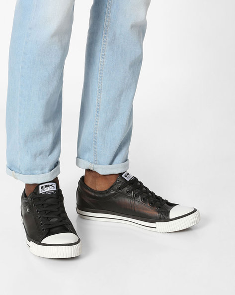 Master Lo Low-Top Casual Shoes By British Knights ( Black ) - 460142271006