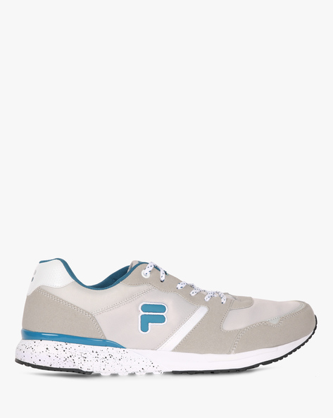Edsel Panelled Lace-Up Shoes By FILA ( Grey )