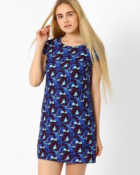 Printed Dress By Candies By Pantaloons ( Green )