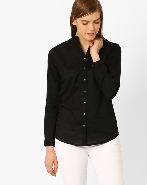 Shirt With Patch Pocket By Lee ( Black )