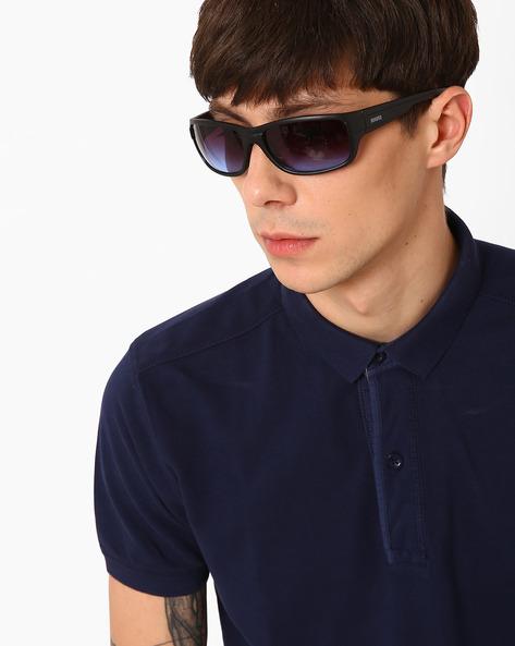 X-Loop Sports Sunglasses For Men Women Blue & Silver Best ...