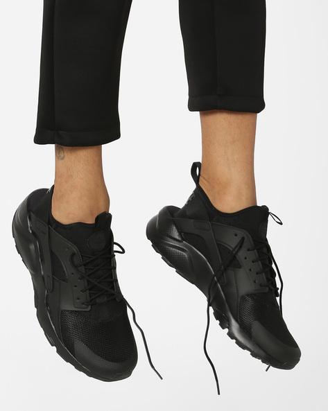 Air Huarache Run Ultra Shoes By NIKE ( Black )