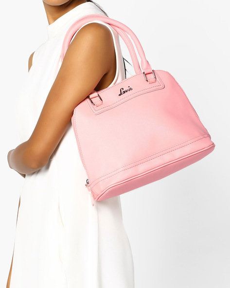 Handbag With Short Handles By Lavie ( Lightpink )
