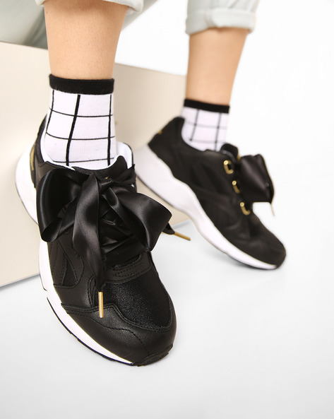 Casual Shoes With Lace-Ups By Puma ( Black ) - 460167165003