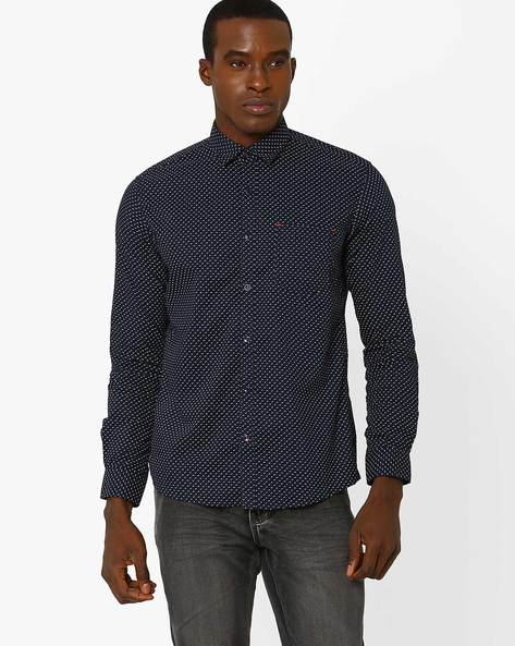 Printed Classic Shirt With Patch Pocket By Killer ( Assorted )