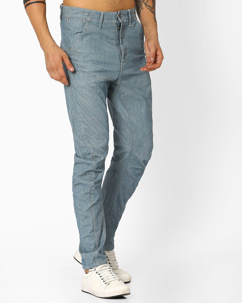 Slim Fit Jeans By VOI JEANS ( Lightblue )
