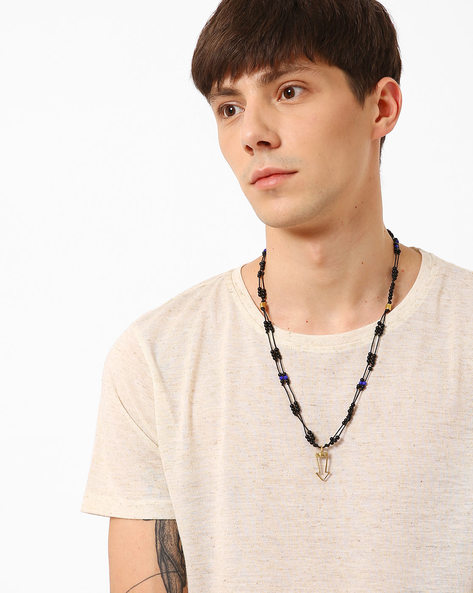 Beaded Neckpiece With Pendant By Alto Vida ( Multi )