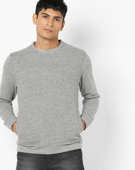 Crew-Neck Sweatshirt With Insert Pockets By GAS ( 2980 )