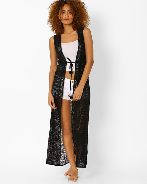 Lace Maxi Cover-Up By PrettySecrets ( Black )