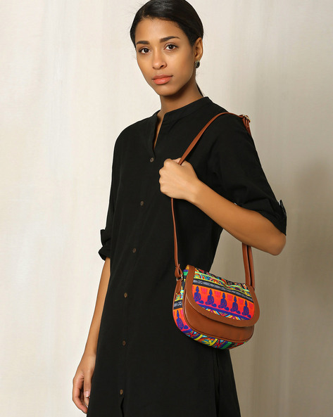 Digital Print Handbag By All Things Sundar ( Multi )