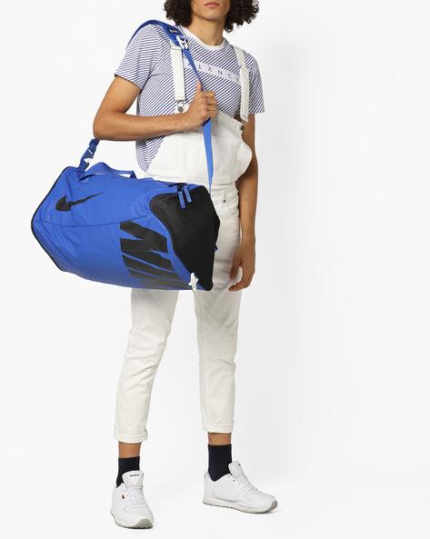 Colourblock Duffel Bag By NIKE ( Blue )