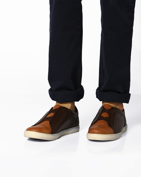Colourblock Casual Shoes By BCK By Buckaroo ( Brown )
