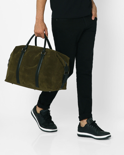Mr Basher Duffle Bag By Atorse ( Olive )