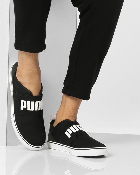 Milano Slip-On Casual Shoes By Puma ( Black )