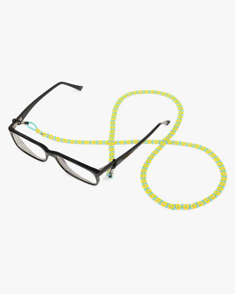 Eye Glass Beaded String By Indie Picks ( Yellow )