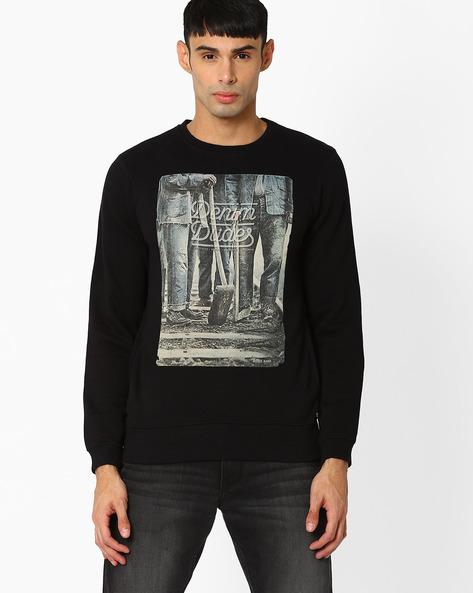 Dulcot Slim Fit Printed Sweatshirt By Killer ( Assorted )