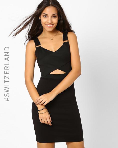 Bodycon Milano Dress By TALLY WEiJL ( Black ) - 460019695002