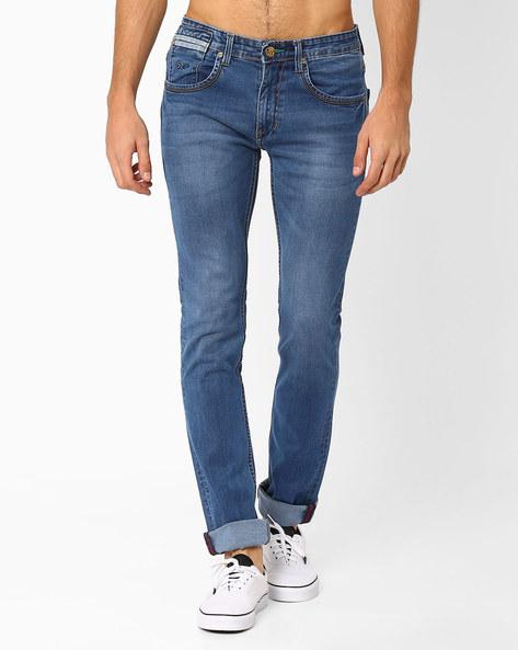 Lucifer Slim Fit Jeans By SIN ( Indigo ) - 460027282003