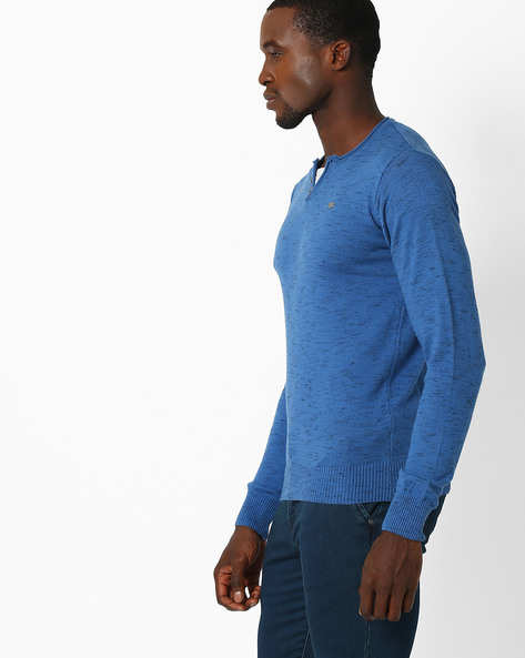 Regular Fit Henley T-shirt