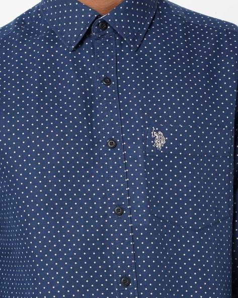 Printed Shirt With Patch Pocket By US POLO ( Assorted )