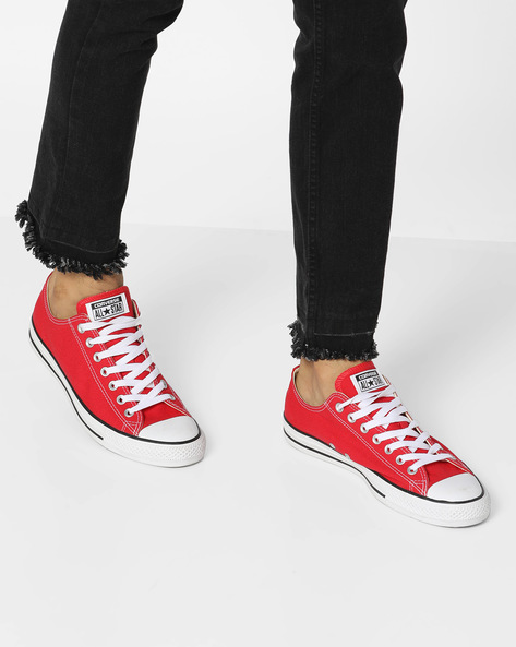 Light Weight Canvas Shoes By CONVERSE ( Red )