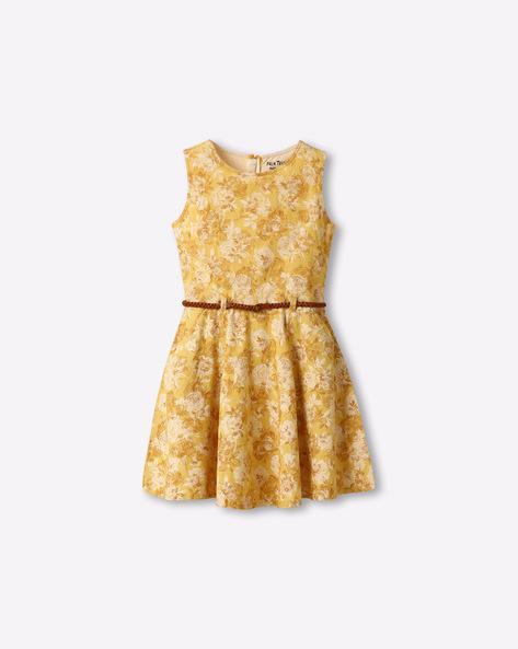 Floral Print Sleeveless Dress By GINI & JONY ( Assorted )