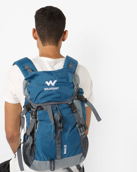 Travel Backpack With Sternum Straps By Wildcraft ( Blue )