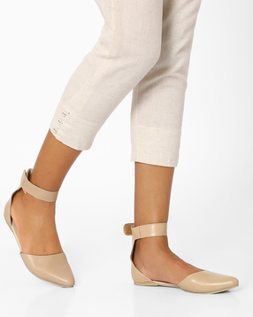 Geniune-Leather-Pointy-Toe-Flat-Shoes