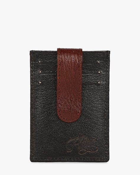 Lebach Wallet With Credit Card Holder By Harp ( Black )