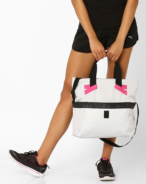 Evo Plus Shopper Tote Bag By Puma ( Grey )