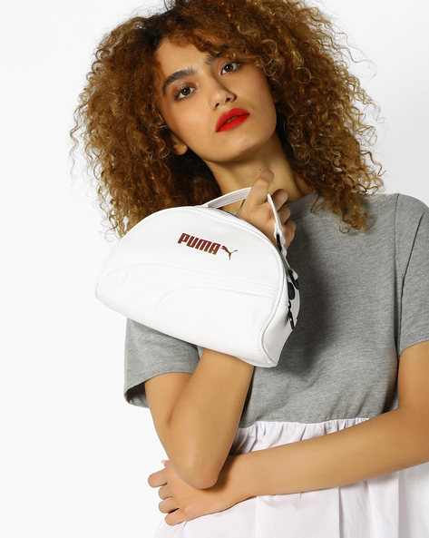 Mini-Grip Shoulder Bag By Puma ( White )