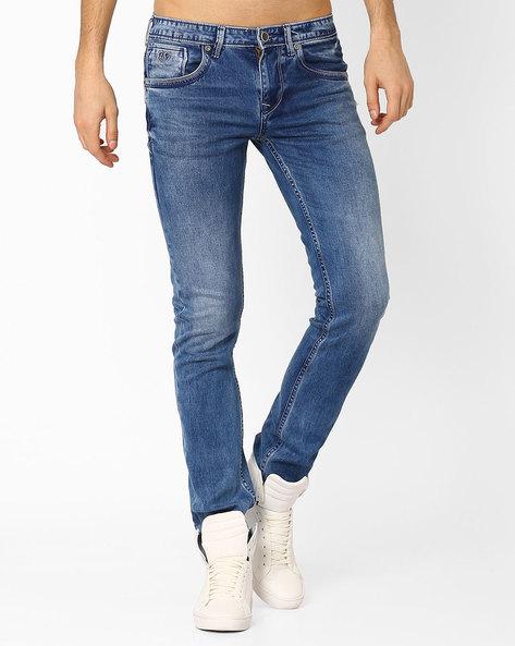 Lefroy Slim Fit Lightly Washed Jeans By Killer ( Assorted )