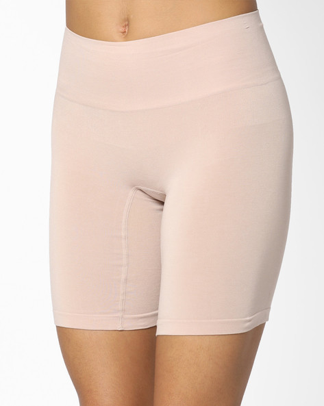 High-Rise Waist & Thigh Shaper By Marks & Spencer ( Brown )